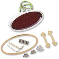 Klock Werks Oval LED Taillight for Custom Applications