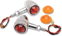 J&P Cycles Chrome Turn Signals