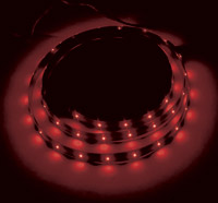 Red LED Accent Lighting Kit Single 36″ Strip