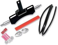 J&P Cycles® Chrome Rear Turn Signal Relocation Kit