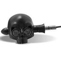 Arlen Ness Xenolen Black Archfiend Amber LED Turn Signals