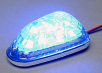 K&S Blue LED Mini Triangle Marker Lights