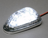 K&S Clear LED Mini Triangle Marker Lights