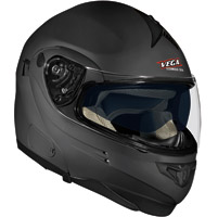 VEGA Summit 3.0 Flat Black Modular Helmet V-Com Compatible Optional System