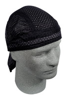 ZAN headgear Black Vented Flydanna