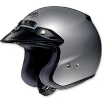Shoei RJ Platinum-R Light Silver Open Face Helmet