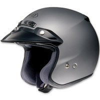 Shoei RJ Platinum-R Matte Gray Open Face Helmet