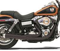 Bassani Road Rage Ceramic Black 2-into-1 Short Megaphone Muf