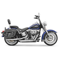 Bassani Chrome Slash Cut Firepower Series Muffler