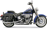 Bassani Chrome Grooved Firepower Series Muffler