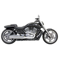 Bassani 4″ Chrome Straight Cut Slip-On Mufflers