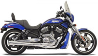 Bassani Road Rage II Mega Series 2-into-1 Chrome Exhaust System