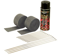 Design Engineering Inc. Motorcycle Exhaust Wrap Kit with B