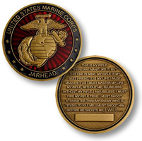 Motordog69 Jar Head Marine Coin