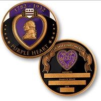 Motordog69 Purple Heart Medal Coin