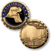 Motordog69  Desert Storm Vet Coin