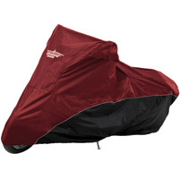 UltraGard Cranberry/Black Bike Cover