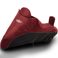 UltraGard Large Cranberry/Black Bike Cover