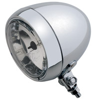 4-1/2″ Chrome Smooth Headlight