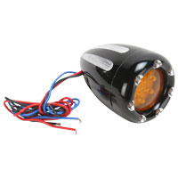 Arlen Ness Deep Cut Factory Style Turn Signal with Fire Ring LED's