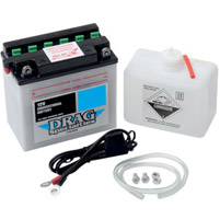 Drag Specialties Conventional 12v Battery Kit