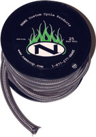 NAMZ Custom Cycle 25' x 3/8″ ID Stainless Fuel Line
