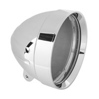 Headwinds 5-3/4″ Recessed Grooved Billet 'Tradewinds' Headlight Housing