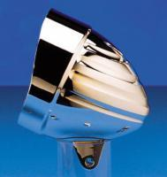 Headwinds Visor Billet Classic Grooved Headlight Housing