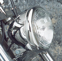 Teardrop Headlight Assembly