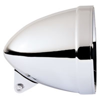 Adjure 7″ Chrome Smooth Headlight Bucket
