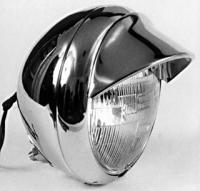 V-Twin Manufacturing 7″ Headlight Visor