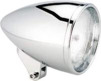 5-3/4″ Chrome Ness-Tech Stretched Bullet Headlight