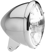 Headwinds 5-3/4″ Standard Billet Classic Smooth Headlight Housing