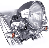 Headwinds 7″ Concours Headlight