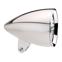 Headwinds 4-1/2″ Concours Rocket Billet Classic Smooth Headlight Housing