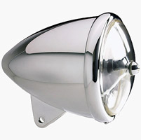 "Headwinds 5-3/4″ Chrome Standard ""Rocket"" Headlight Housing"