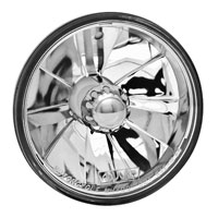 Adjure 'Jewel Faceted' 4-1/2″ Headlight and Lamp