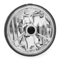 Adjure 4-1/2″ Diamond Cut Trillient, Black Dot Halogen Spot Lamp