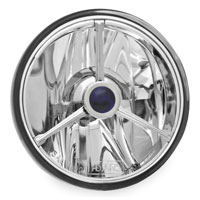 Adjure 4-1/2″ Wave Cut Trillient, Blue Dot Halogen Spot Lamp