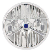 Adjure 'Jewel Faceted' 7″ Headlight Lamp