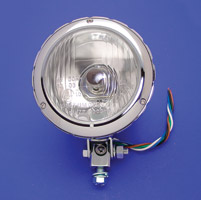 4″ Billet Headlamp