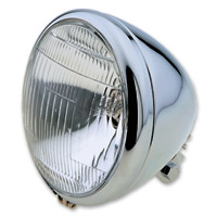 J&P Cycles 6-1/2″ Teardrop Headlight Assembly