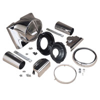 J&P Cycles® Headlight Housing Conversion Kit