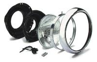 J&P Cycles® 7″ Headlight Sub Assembly and Trim Kit