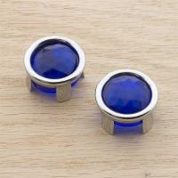 J&P Cycles® Blue Dot Jewels and Mounting Rings