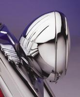 J&P Cycles 7″ Custom Ribbed Headlight