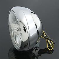 J&P Cycles 7″ Custom Smooth Headlight