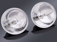 J&P Cycles® Halogen Spotlamps with Smooth Reflector