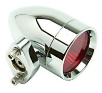 Lazer Star Bullet Style Halogen Lights with Red Lenses