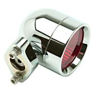 Lazer Star Shorty Style Halogen Lights with Red Lenses